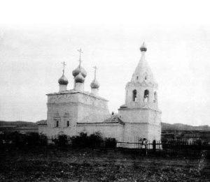 Церковь успения Пресвятой Богородицы с Калинино