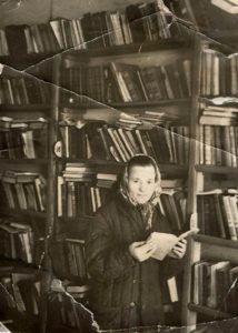 Первые годы в библиотеке Александры Братухиной