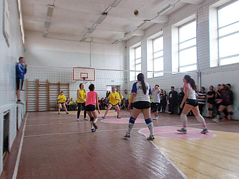 В Читинском районе играли в волейбол