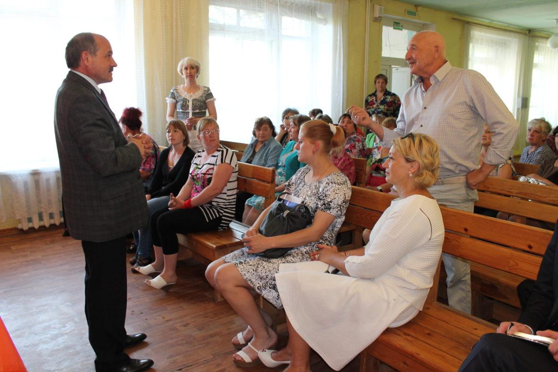 Николай Говорин встретился с жителями Читинского района