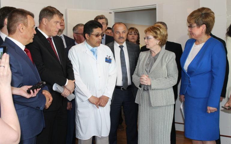 Министр здравоохранения РФ: «Николай Говорин имеет авторитет и в Забайкалье, и в стране»