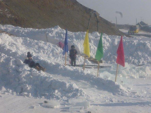 Праздник Зимы прошёл в селе Маккавеево