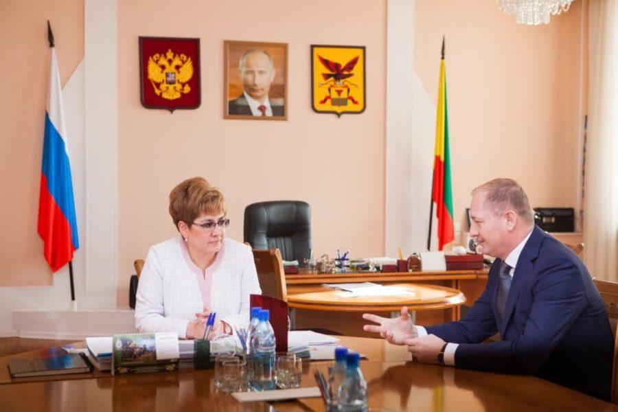 Наталья Жданова обсудила с Виталием Ивановым стратегию развития региональной электроэнергетики на ближайшие годы