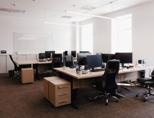 Интерьер современного офисного пространства